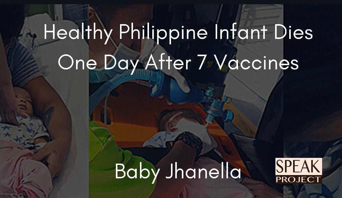 Healthy Philippine Infant Dies One Day A