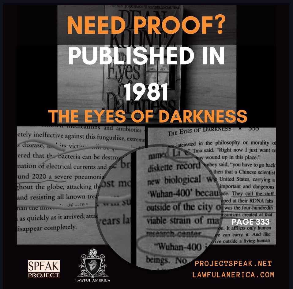NEED PROOF - Published in 1981 The Eyes