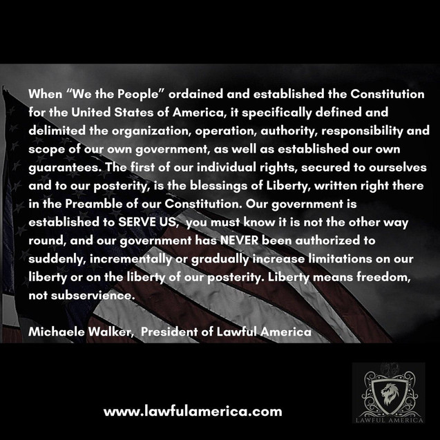 When -We the People- ordained and establ