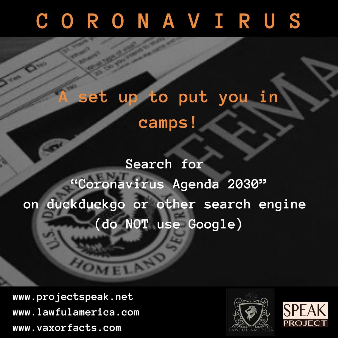 Coronavirus - Agenda 2030