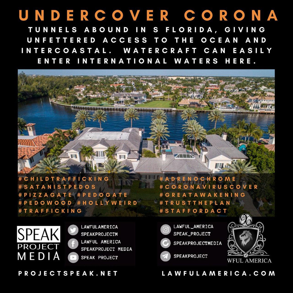 UNDERCOVER CORONA - Tunnels are Abound i
