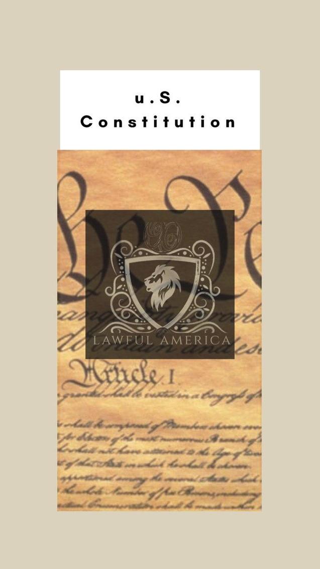 u.S. Constitution - U.S. Const. Art VI 1