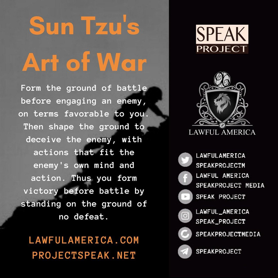 Sun Tzu's Art of War - Form the ground b
