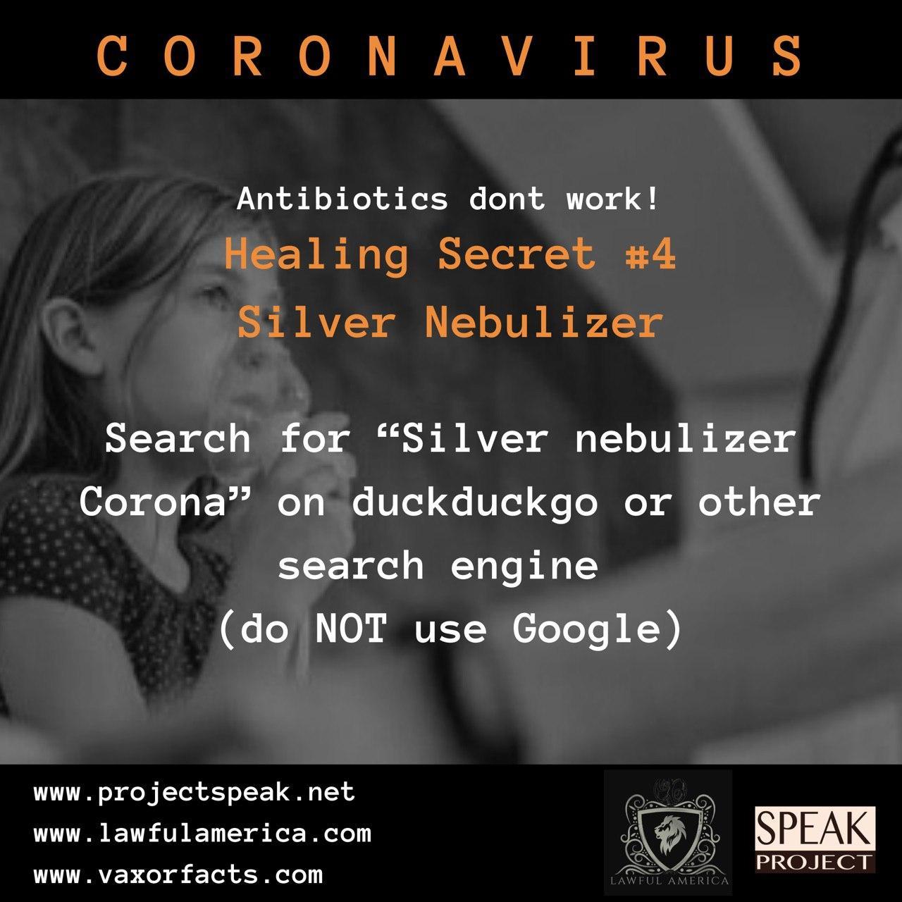 Coronavirus - Healing Secret #4