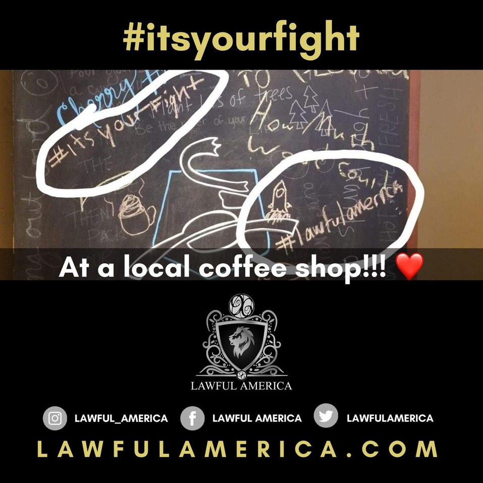 #ITSYOURFIGHT - At a Local Coffee Shop.j