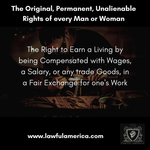 The Right to Earn a Living by being Comp