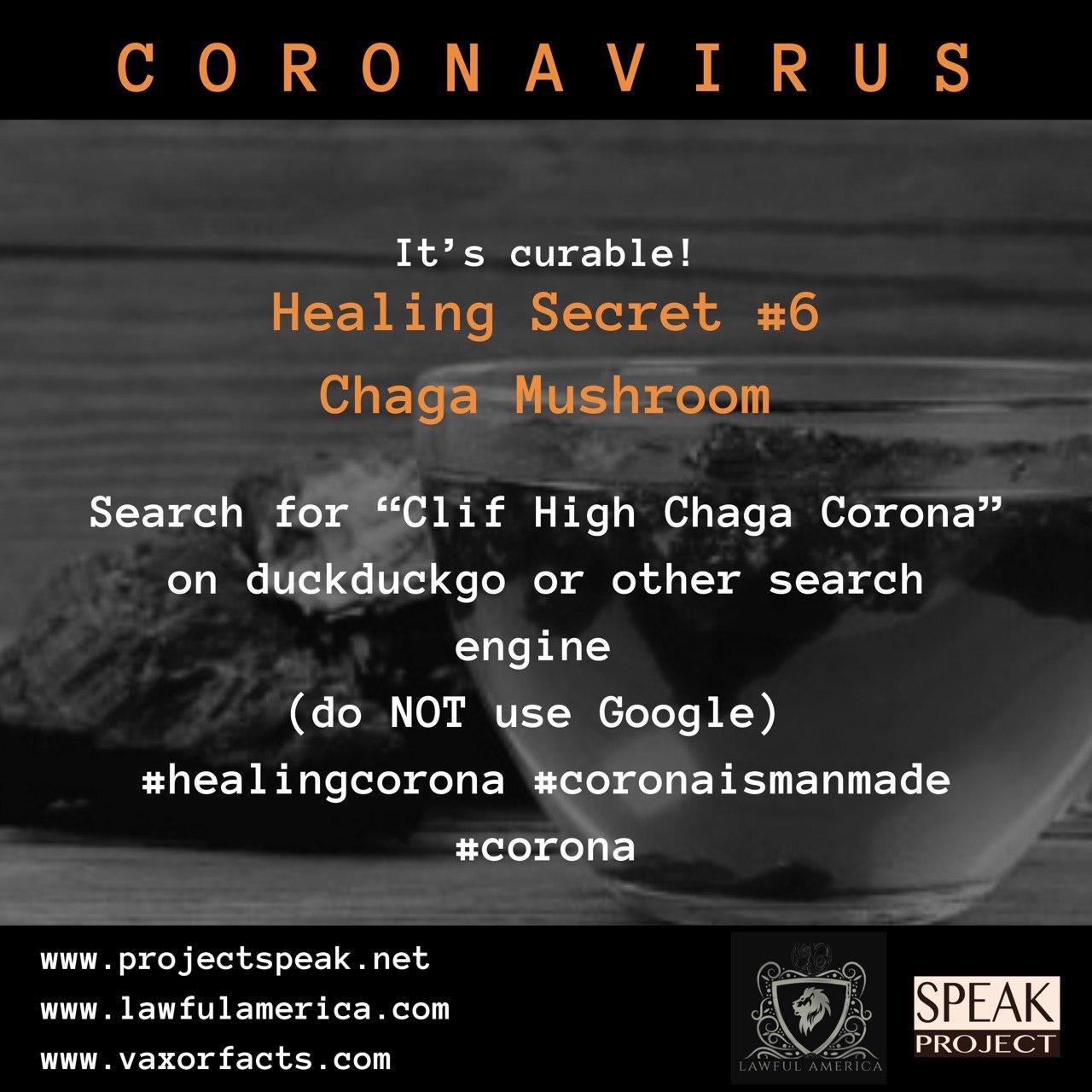 Coronavirus - Healing Secret #6