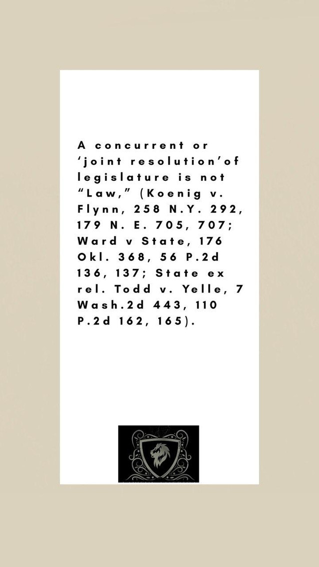 u.S. Constitution - A Concurrent or Join