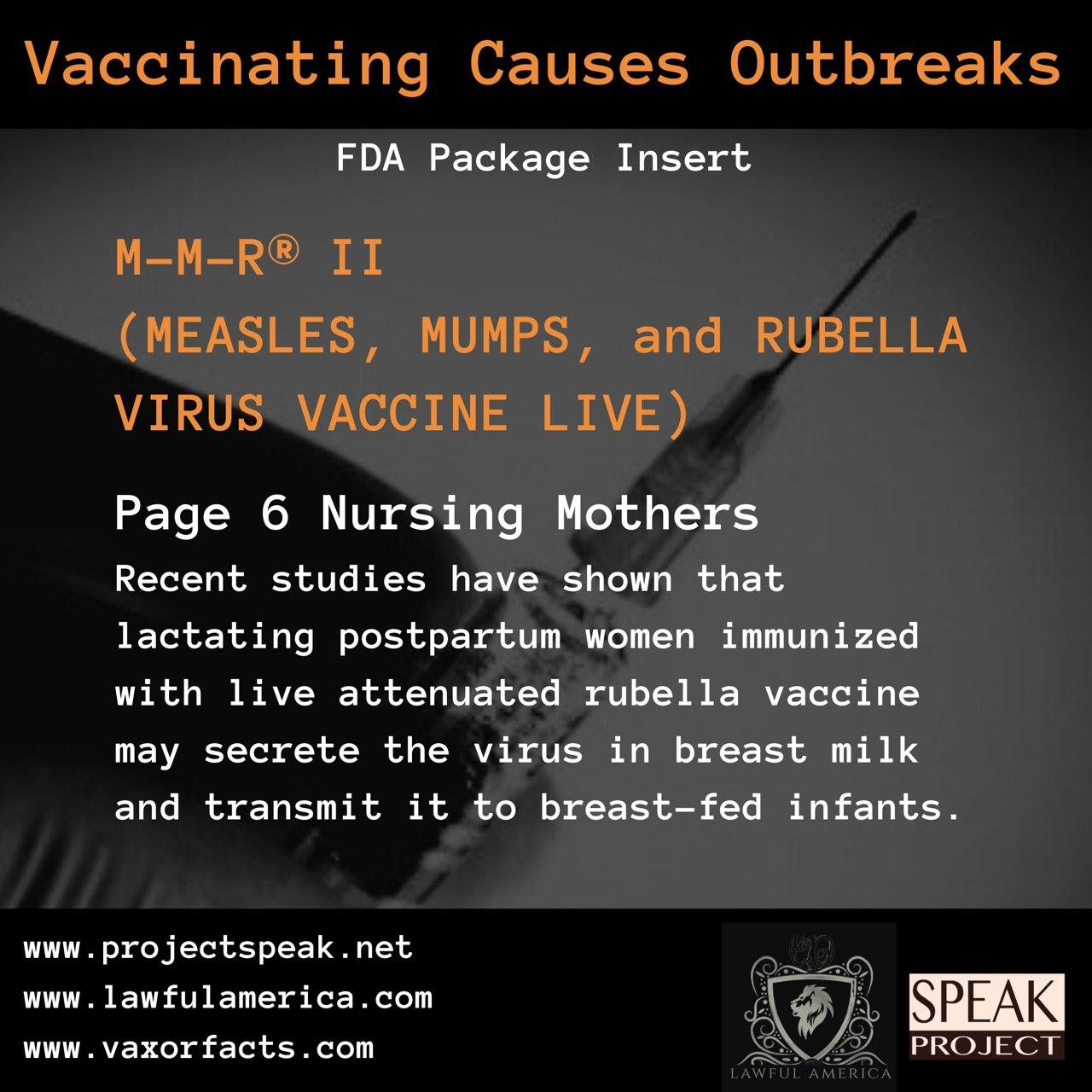 Vaccinating Causes Outbreaks - MMR II