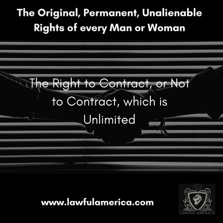 The Right to Contract or Not to Contract