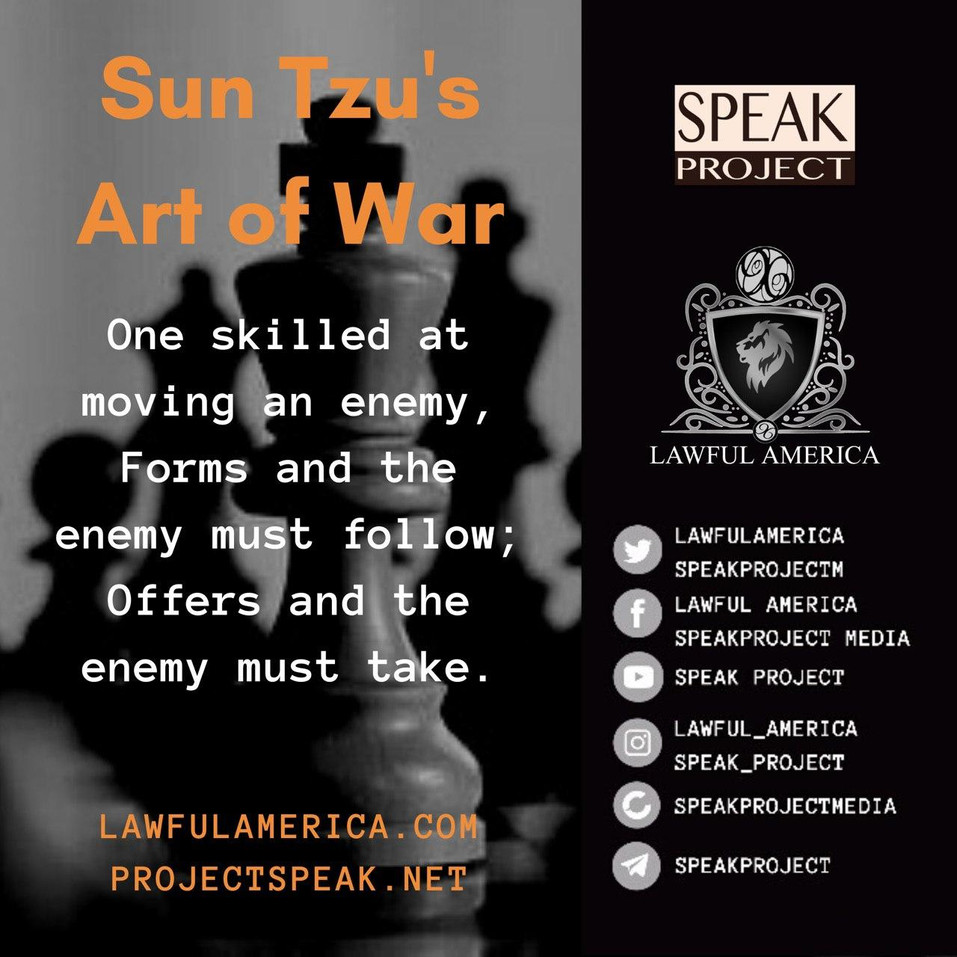 Sun Tzu's Art of War - Skilled at moving