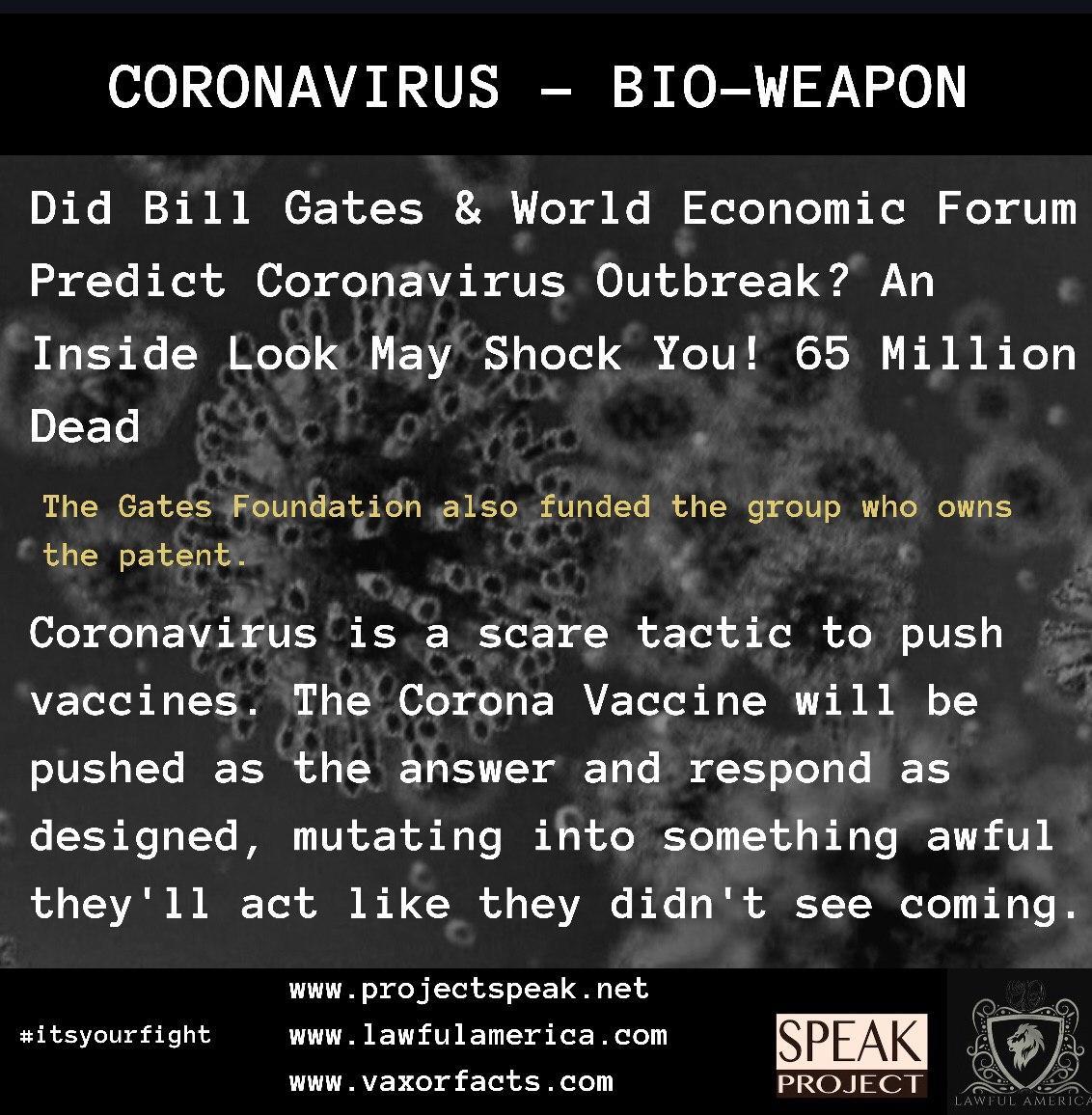 Coronavirus - Bio-Weapon