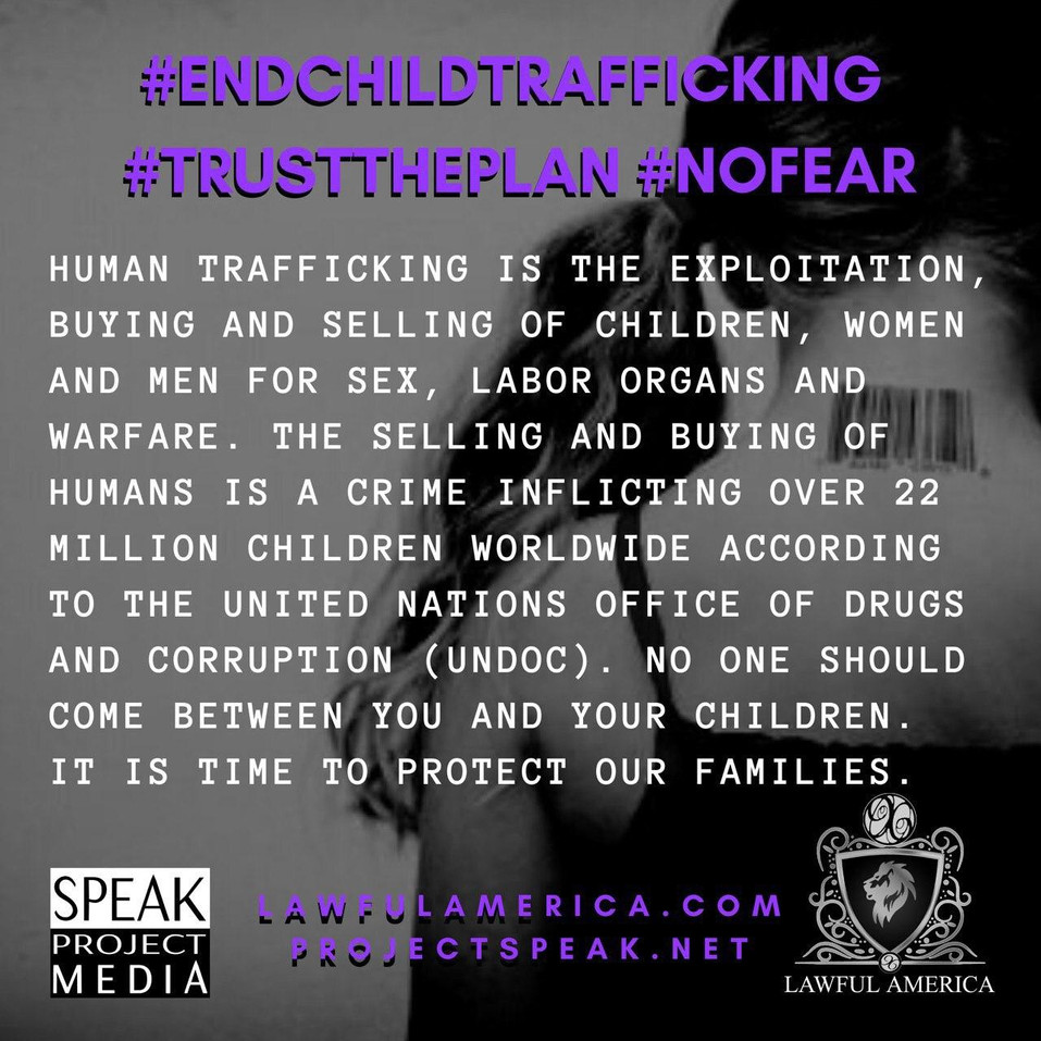 #NOFEAR - Human Trafficking is the Explo