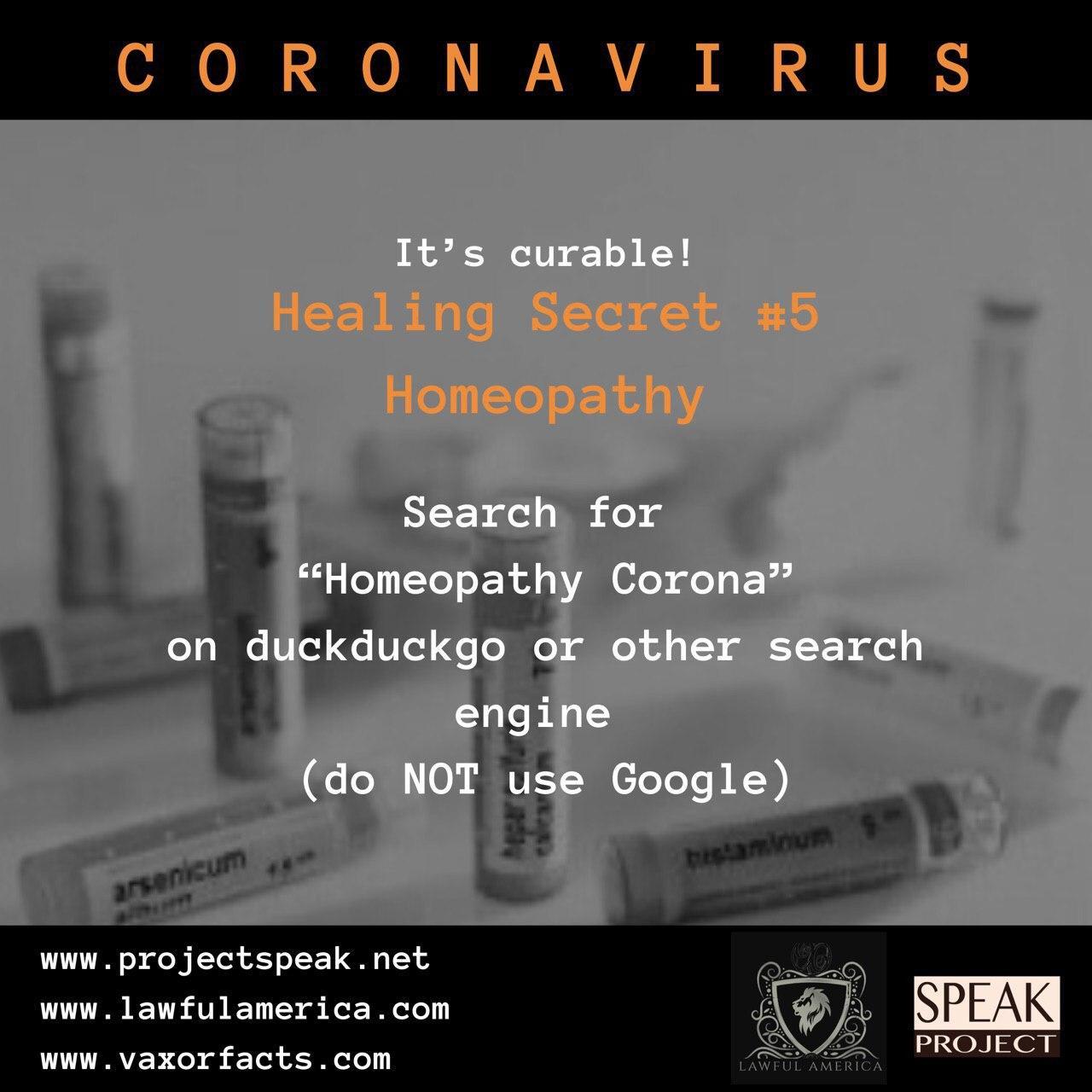 Coronavirus - Healing Secret #5
