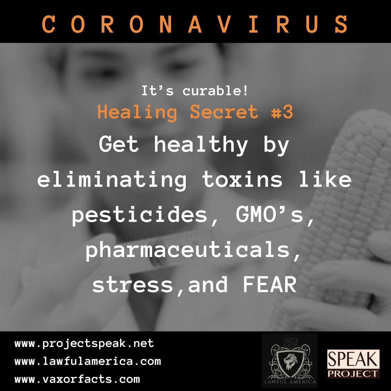 Coronavirus - Healing Secret #3