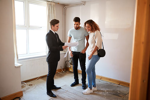 Couple Buying House For The First Time L