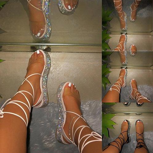 Platform Bling Sandals