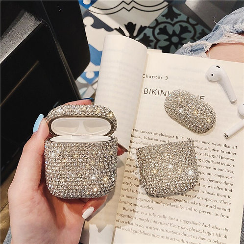 Luxurious Bling Hard Shell Earpod Cases
