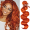 Thumbnail: Brazilian - Body Wave - Spicy Orange - 100% Remy