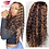 Thumbnail: Highlighted - Deep Wave - Lace Front -Human Hair