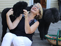 Christine with poodles.jpg