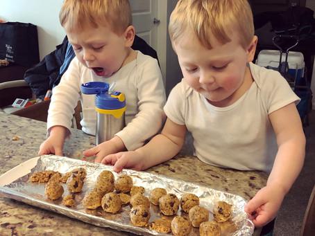 No-Bake Chocolate Chip Cookie Balls