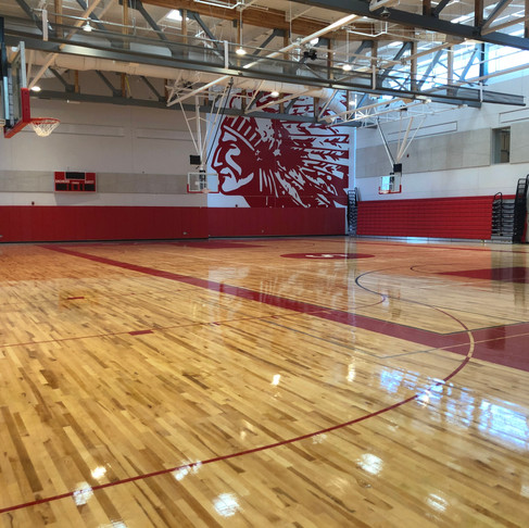 Saugus Middle School and High School, Saugus, MA - Final Cleaning