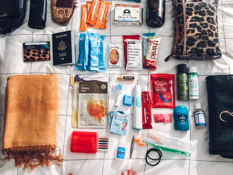 Business Travel Essentials: Carry On & Toiletries