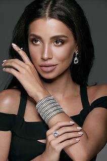 Woman with bracelet