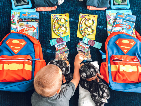 How to Pack an Airplane Carry On for Toddlers
