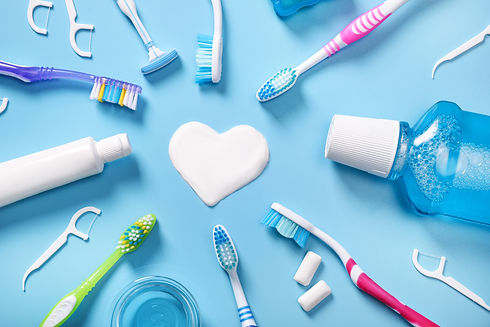 Teeth cleaning products