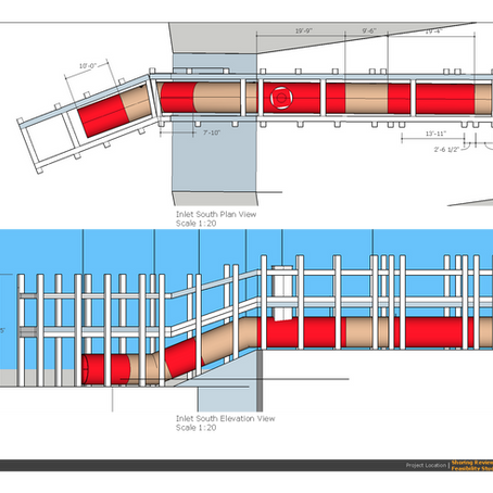 Shoring review and pipe installation feasibility study