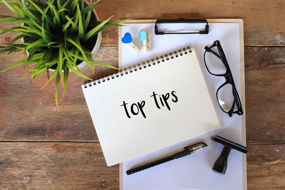 Top Tips Notebook