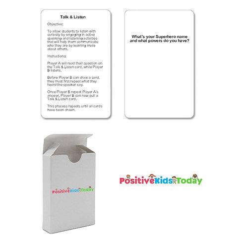 Talk & Listen Cards