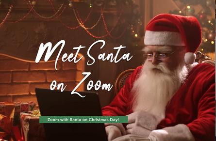 Meet Santa On Zoom