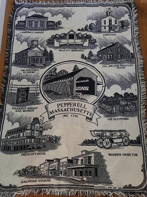 Pepperell Historical Woven Blankets
