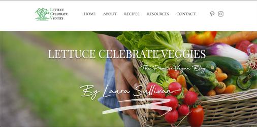 Lettuce Celebrate Veggies