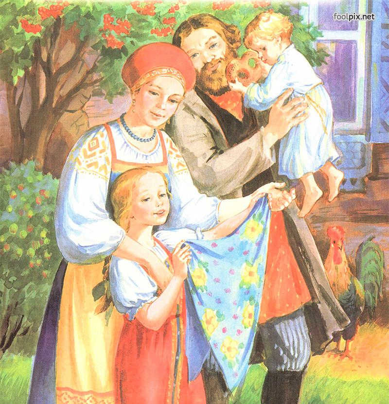 Картинка образ матери на руси
