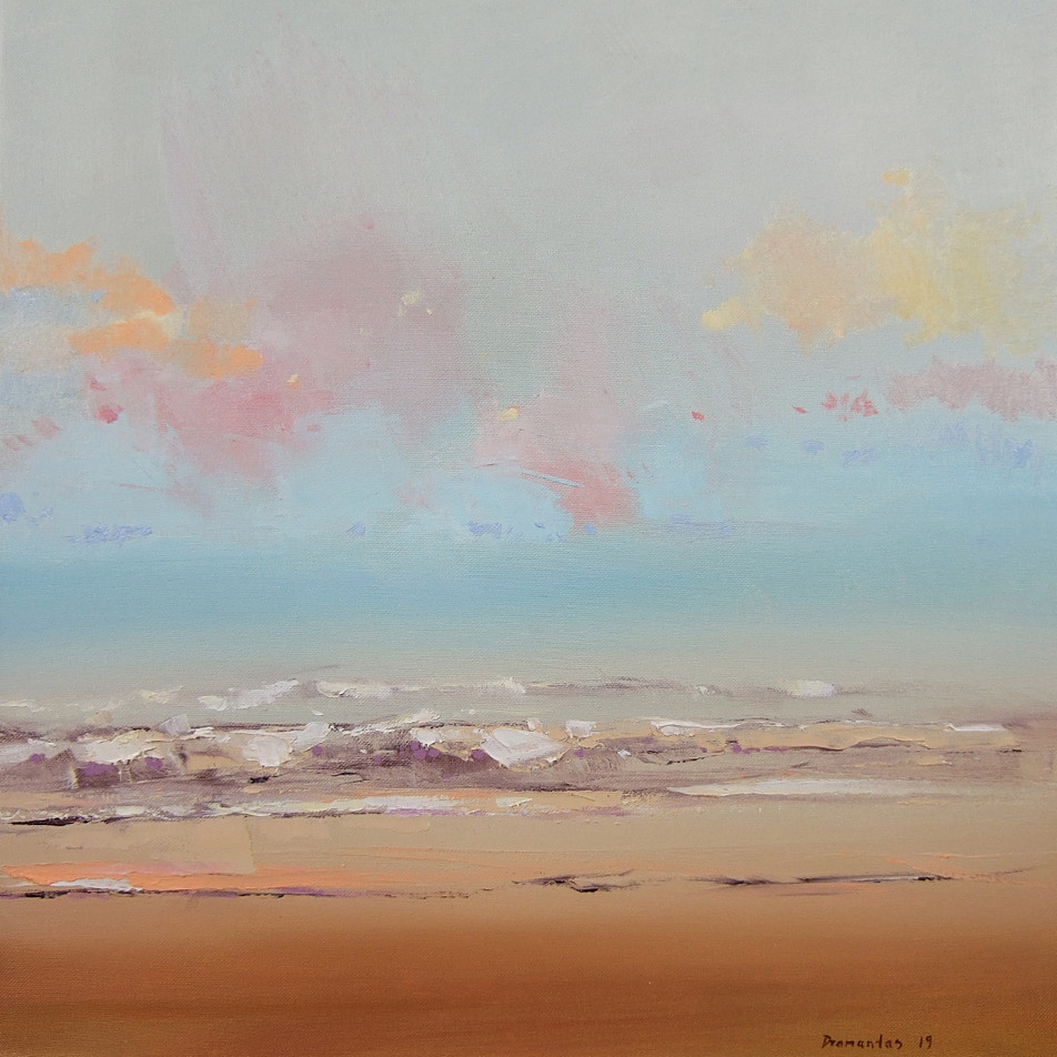 """Momentum"" 14 Drobė | al., 50x50 cm, 2019"