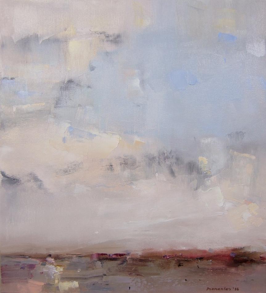 "EN  'Light and Color' 7 Oil on canvas, 50 x 45 cm, 2016 ____  LT  ""Šviesa ir spalva"" 7 Drobė | al., 50 x 45 cm, 2016"