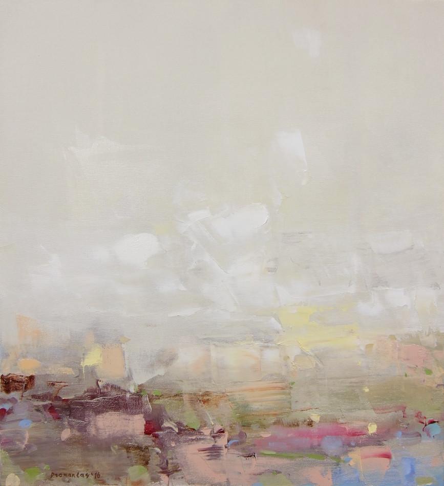 "EN  'Light and Color' 13 Oil on canvas, 50 x 45 cm, 2016 ____  LT  ""Šviesa ir spalva"" 13 Drobė | al., 50 x 45 cm, 2016"