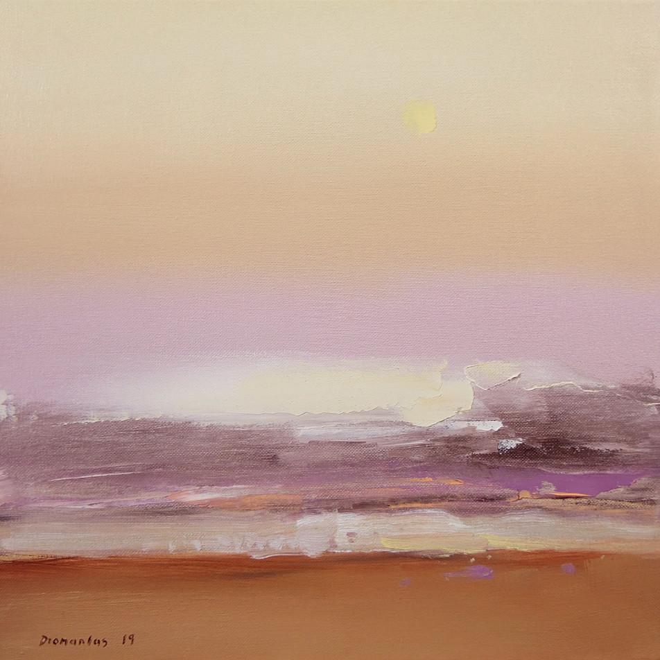 """Momentum"" 12 Drobė | al., 37x38 cm, 2019"