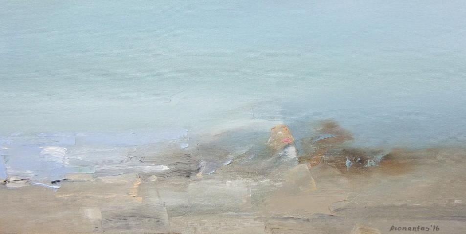 "EN  'Light and Color' 6 Oil on canvas, 24 x 60 cm, 2016 ____  LT  ""Šviesa ir spalva"" 6 Drobė | al., 24 x 60 cm, 2016"