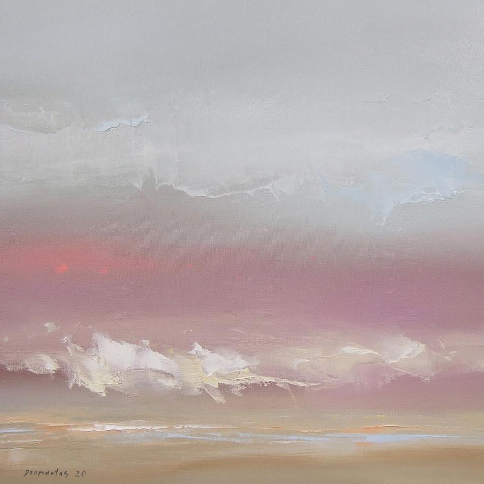 """Momentum"" 18 Drobė | al., 50x50 cm, 2020"