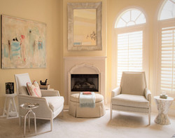 Preston Hollow Master Sitting Area
