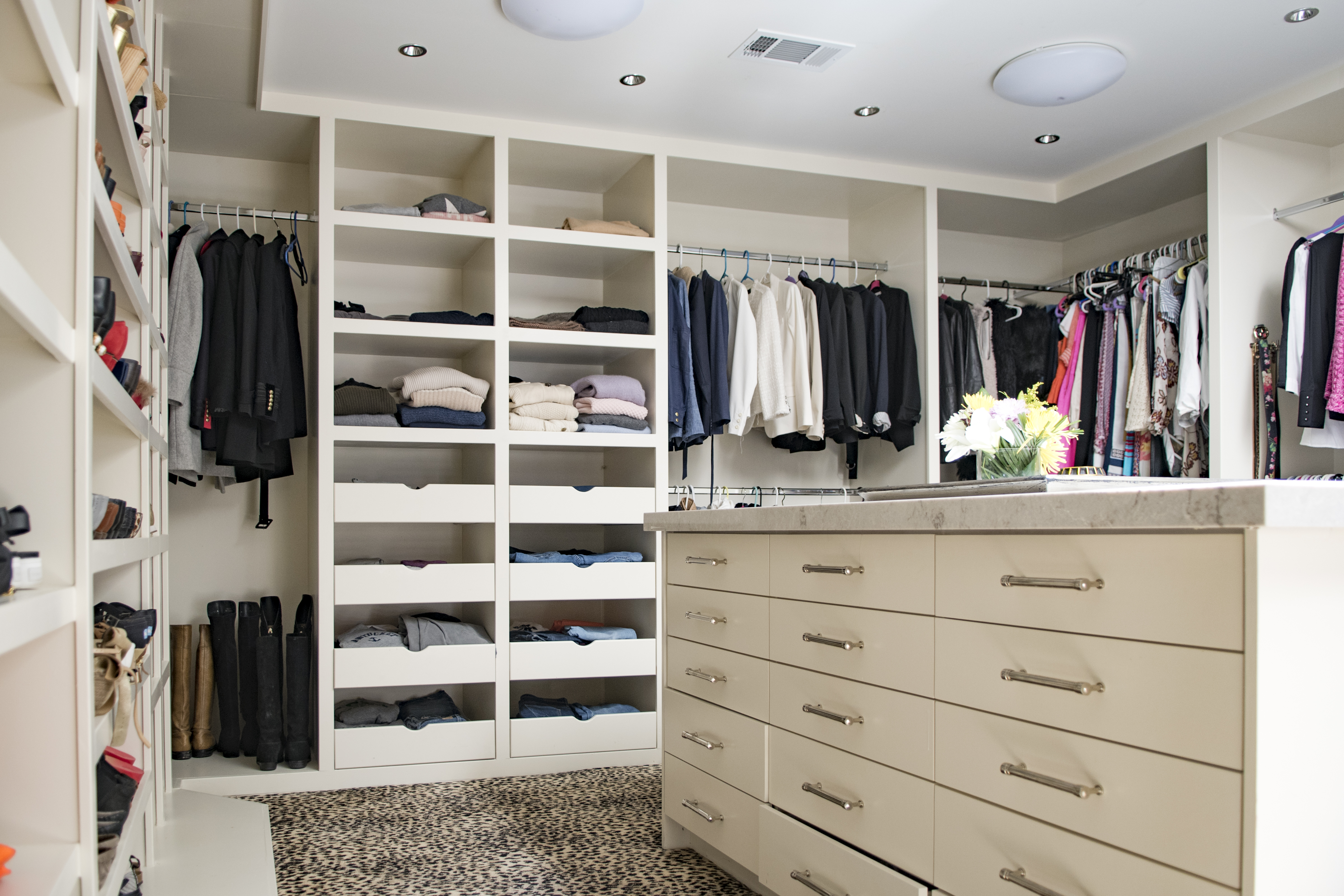 Custom Master Closet