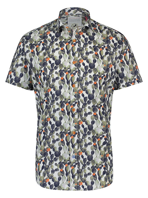 A Fish Named Fred Short Sleeve Cotton Shirt
