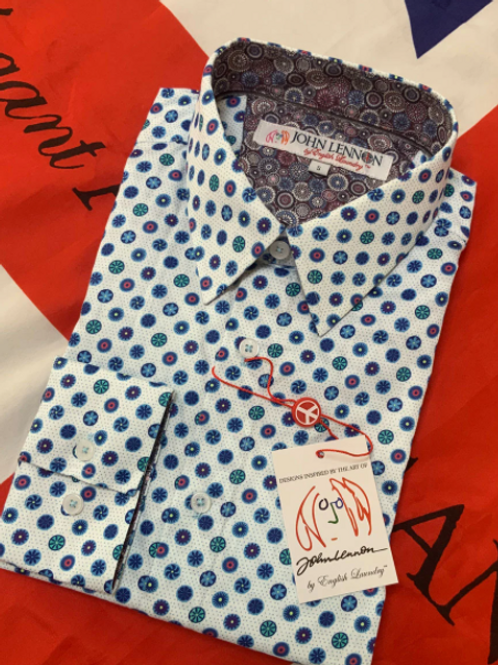 John Lennon Pure Cotton Long SleeveShirt