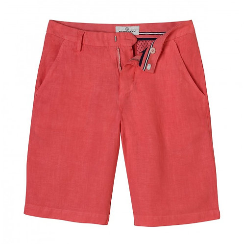 Europann Pure Linen Bermuda Shorts