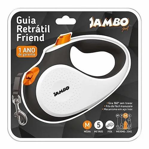 Jambo Guia Retratil Friend Media Branca